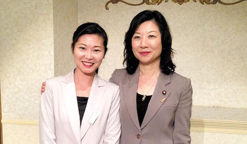 加藤鮎子と野田聖子