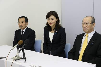 2015年5月19日金子恵美結婚記者会見