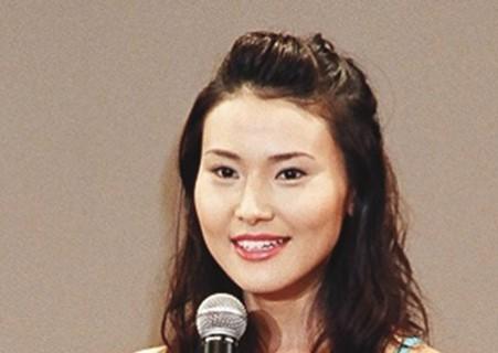 2003年ミス日本関東代表の金子恵美さん