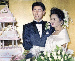 中村芝翫(橋之助)と三田寛子の結婚式